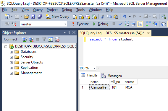 How to insert data in windows application C#  net - Campuslife
